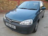 Vauxhall Corsa 1.2i 16v 2001 Comfort 2 Previous LOOK AT THE LOW MILES!!!