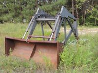 Front end Loader 6 feet wide for tractor