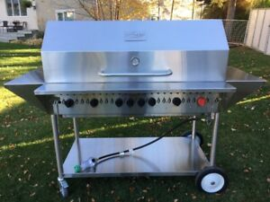 "48"" Trimen Commercial Bar B Q/Grill Model # TCG-48"