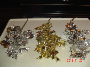 ASSORTMENT OF LARGER SEASONAL CRAFT ACCENTS & DECORATING SPIKES