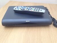 SKY HD Box with remote for sale