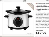 Slow Cooker SF17010N -- used --collection only