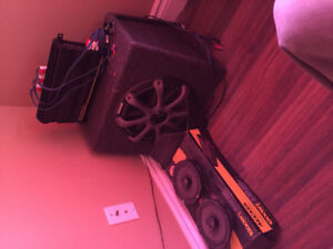 1200w kicker car stereo system(must sell, make an offer)