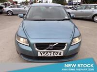 2007 VOLVO S40 1.8 S Aux Mp3 Input Cruise Low Insurance Economical