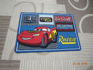 """CARS RUG (44"""" BY 31.5"""")"""