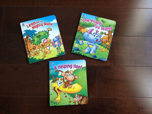 Set of 3 My Animal Library Board Books by Phidal