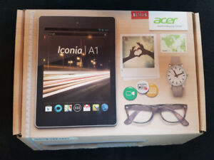 Tablette Acer Android quad-core, 16gb, hdmi, microsd...