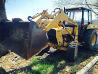 NEW HOLLAND 545D LOADER TRACTOR 4x4