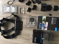 GoPro hero 4 black plus LCD touch backpack