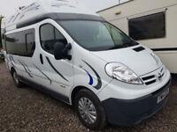2011 Nissan Primastar/ Renault Traffic/ Vauxhall Vivaro Diesel Camper Van