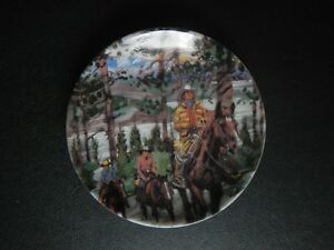 "Avon Canadian Portraits Plate ""Alberta Adventure"" NEW"