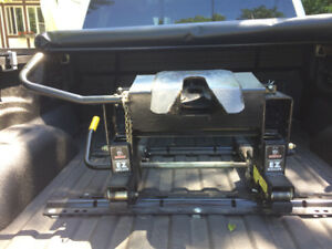 Trailer fifth wheel hitch