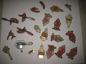 antique icebox hinges and latches