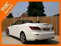 2012 Lexus IS IS250C 2.5 Advance 6 Speed Auto Convertible Electric Hard Top Sat