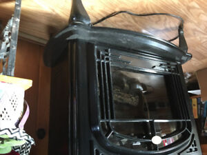 Kimplex wood stove style electric heater