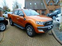 2017 67 Reg Ford Ranger 3.2 TDCI 200ps WILDTRAK AUTO (NO VAT 400 MILES !! )