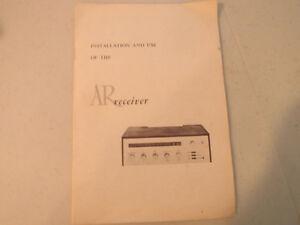 Very rare AR amp London Ontario image 4