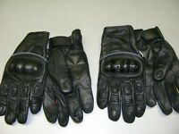 Leather Short Cuff Gloves - 2 Styles - NEW at RE-GEAR Kingston Kingston Area Preview