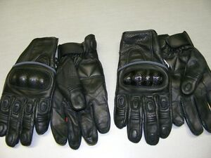 Leather Short Cuff Gloves - 2 Styles - NEW at RE-GEAR