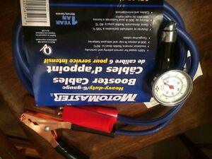 Motormaster  Booster Cable  with Air Pressure, Brand New Edmonton Edmonton Area image 4