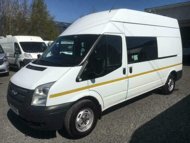 586493034c Ford Transit mess unit 7 seater with toilet LWB