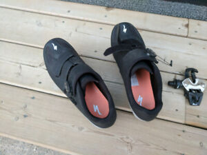 Road Cycling shoes and pedals or just shoes