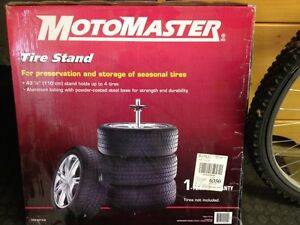 MotoMaster Tire Stand