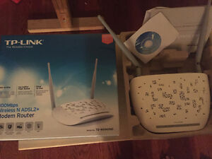TP Link wireless modem router