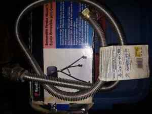 Gas stove or gas dryer flexible Hose / pipe / hook up