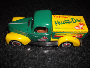 1940 FORD 1/24TH DIECAST MOUNTAIN DEW PICK UP
