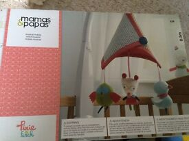 Mamas and papas cot mobile- immaculate!