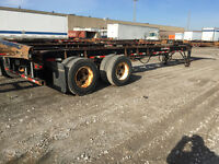(25+) 20 FT / 40 FT / 40-53 FT Container Chassis FOR SALE