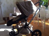 Bugaboo Cameleon in Sand fabric - great condition.