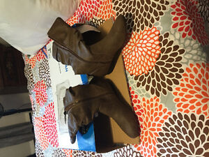 Leather boots. Sz 12