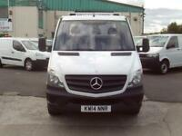 Mercedes-Benz Sprinter 313cdi 13ft Dropside 130ps DIESEL MANUAL WHITE (2014)