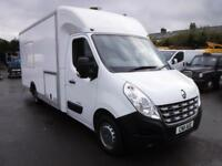 RENAULT MASTER 125.35 L2H2 MOBILE OFFICE WITH GENERATOR, White, Manual, Diesel,