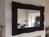 Large ornamental mirror