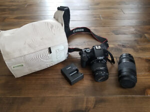 Canon T3 - Excellent condition with extra lens