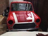 1982 classic mini Mayfair project