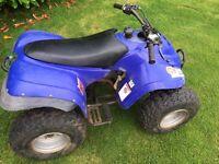 Eton 90cc quad good tyres for parts or repair Suzuki trailer scrambler