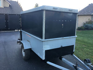 Custom Made Heavy Duty Enclosed ATV/ Utility Trailer