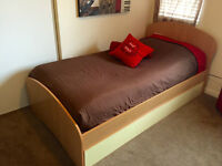 Designer Bed with extra drawer bed