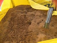 Bagged Concrete Sand