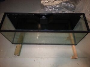 50 gallon tank, drilled with overflow box London Ontario image 1