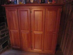 Beautiful Custom Made Cherrywood Cabinet
