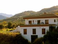 Spanish Country Villa for sale. 3/4 bedrooms with pool in Guaro, Andalucia.