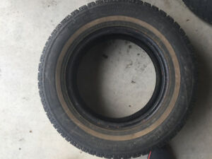 reduced $50 --4 WINTER TIRES 4 WINTER TIRES P195/70R/14
