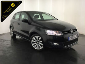 2013 VOLKSWAGEN POLO SEL TDI 1 OWNER VW SERVICE HISTORY FINANCE PX WELCOME
