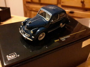 Miniature Diecast Panhard Dyna X 1954 échelle 1/43 collection