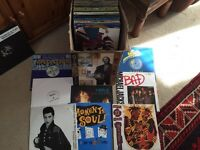 Job lot 131 vinyl records mostly 80s house/dance/funk/soul